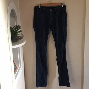 Hudson straight jeans